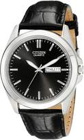 Citizen Men's BF0580-06E Quartz Watch with Leather Strap