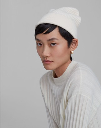 Club Monaco Turnback Ribbed Beanie