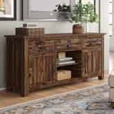 Three Posts Aquinnah Solid Wood TV Stand for TVs up to 78 inches