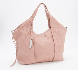 Vince Camuto Convertible Lamb Leather Pleated Tote - Steph