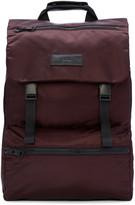 Ami Alexandre Mattiussi Burgundy Nylon Backpack