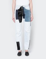 Off-White Velvet Patch 5 Pocket Pant