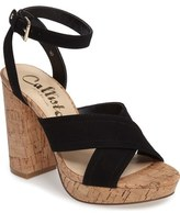 Callisto Windye Platform Ankle Strap Sandal (Women)