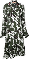 Marni leaf print dress - women - Viscose - 42
