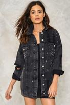 Nasty Gal nastygal Star Player Denim Jacket