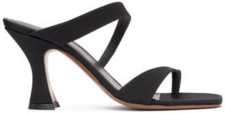 Neous Black Sika 80 Heeled Sandals