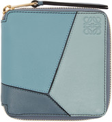 Loewe Blue Small Puzzle Wallet