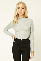 Forever 21 FOREVER 21+ Marled Knit Top
