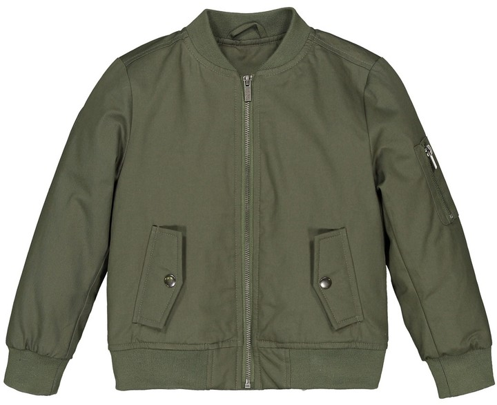 3-12 Years La Redoute Collections Big Boys Reversible Bomber Jacket