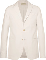 Oliver Spencer - Theobald Unstructured Herringbone Cotton Blazer