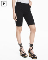 White House Black Market Petite 11-inch Premium Bi-Stretch Bermuda Shorts