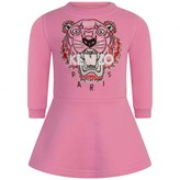 Kenzo KidsBaby Girls Fuchsia Tiger Sweater Dress