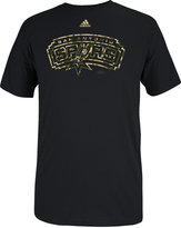 adidas Men's San Antonio Spurs Pride Logo T-Shirt