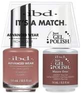 "IBD Advanced Wear - ""It's A Match"" Duo - Mauve Over - 14ml / 0.5oz Each"