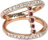 Adore Pave & Round Ring