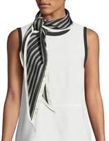Rag & Bone Narrow Striped Silk Scarf