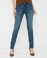 White House Black Market Petite Fashion-Trim Slim Jeans