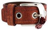 Miu Miu Leather Buckle Bracelet