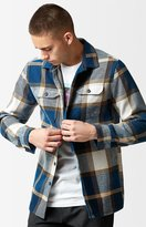 Volcom Heavy Daze Plaid Flannel Long Sleeve Button Up Shirt