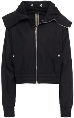 Rick Owens Cotton Hooded Bomber Jacket