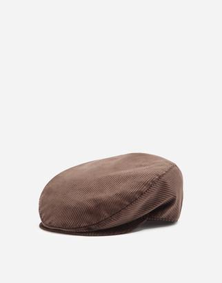 Dolce & Gabbana Corduroy Flat Cap