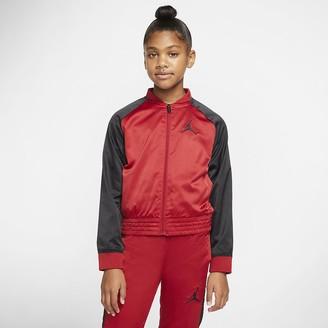 Nike Big Kids' (Girls') Full-Zip Bomber Jacket Jordan Jumpman
