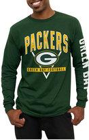 Junk Food Clothing Men's Green Bay Packers Nickel Formation Long Sleeve T-Shirt