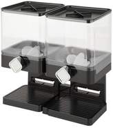 Zevro Double Compact Edition 17.5 Oz. 2 Container Cereal Dispenser