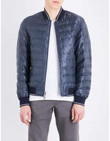 Michael Kors Textured quilted bomber jacket