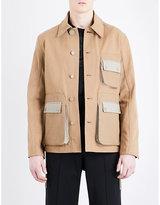 Givenchy Patch Pocket Cotton Jacket