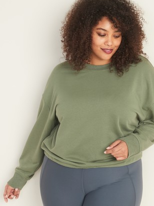 Old Navy French Terry Tie-Back Plus-Size Sweatshirt