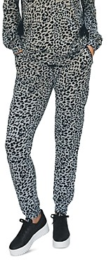 BILLY T Whip Leopard Print Joggers