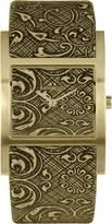 Jacques Lemans Dover Women's Leather Mineral Glass Quartz Watch 1-1480B