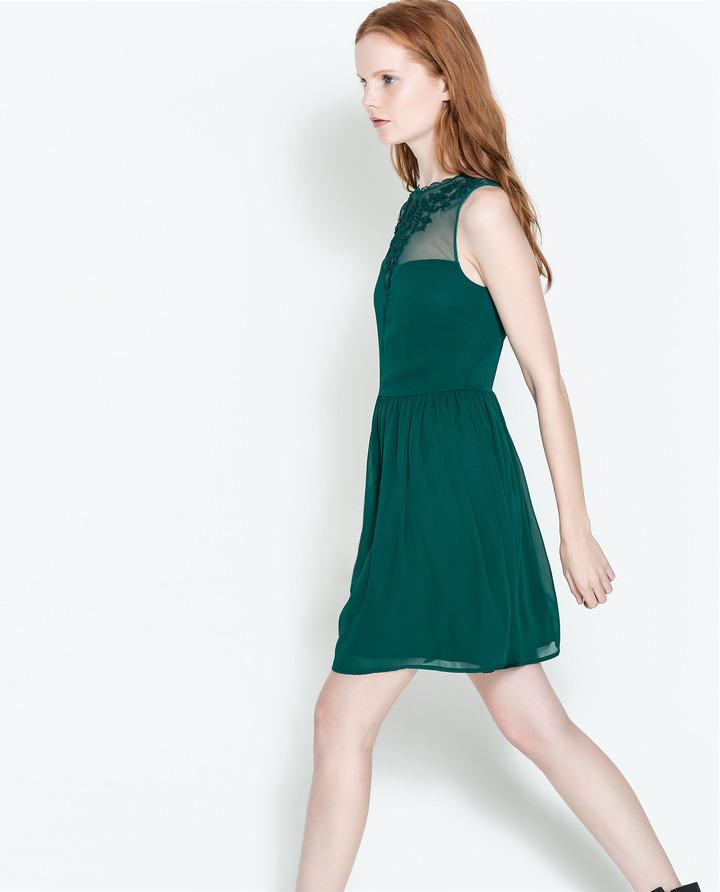 Zara Combined Dress