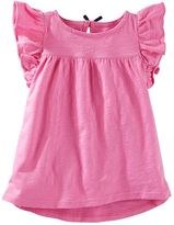 Osh Kosh Toddler Girl Flutter Short Sleeve Flow Tunic