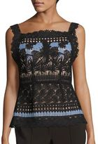 Yigal Azrouel Bird Lace Top