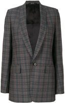 Maison Margiela shawl lapel checked blazer
