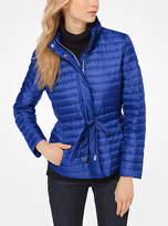 Michael Kors Packable Nylon Puffer Jacket