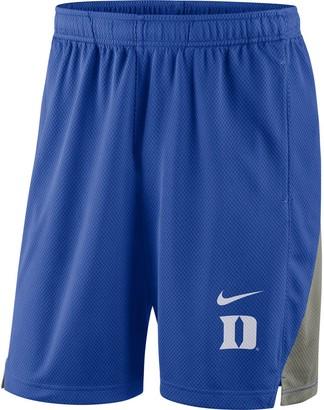 Nike Men's Royal Duke Blue Devils Franchise Shorts