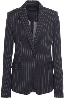 Rag & Bone Lexington Pinstriped Cotton-blend Blazer