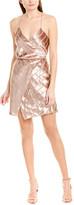 Mason by Michelle Mason Strappy Silk-Lined Mini Dress