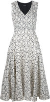 Twin-Set printed flared dress