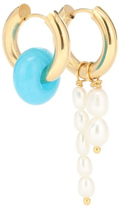 Timeless Pearly Baroque pearl earrings