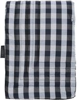 La Perla Checkered Silk & Linen Throw