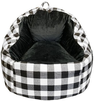 Acessentials Buffalo Printed Tablet Chair Black/White