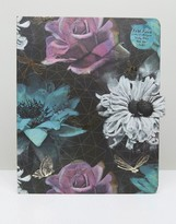 Paperchase Gothic Garden Large List Book