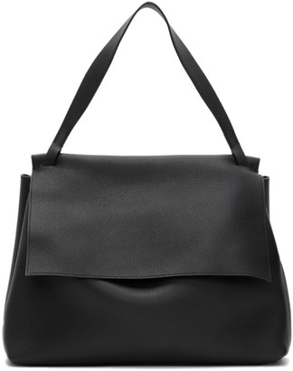 The Row Black Top Handle 14 Two Bag
