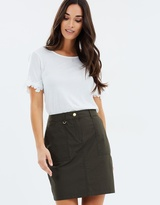 Dorothy Perkins Cotton Poplin Skirt