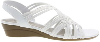 Impo Rainelle Stretch Wedge Sandal - Wide Width Available
