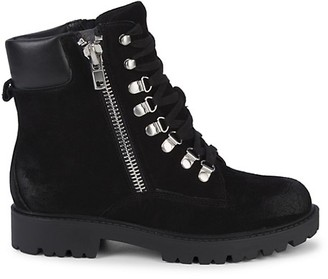 Charles by Charles David Lace-Up Suede Boots